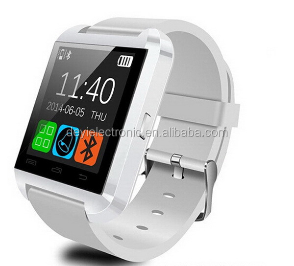 Diversified latest designs hotsell U8L swap smart watch with free cellphone holder