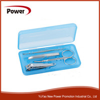 Cheap Plastic Box With Manicure Set