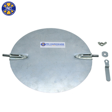 "8"" Galvanized steel round volume control damper for Spin colllar"