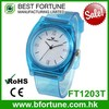 FT1203T Best price 3 atm water resistant 2016 plastic hong kong watch