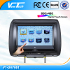 "High stability 7"" car modern design headrest dvd with USB/SD"