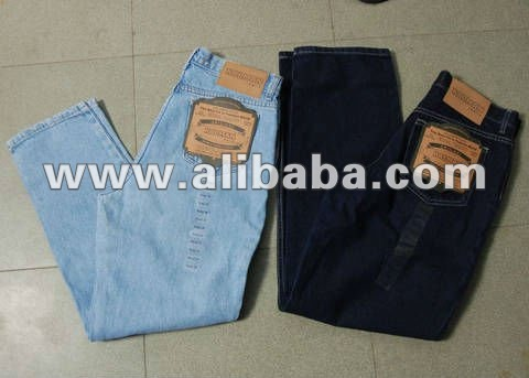 STOCK LOT BLUE DENIM JEANS