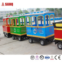 Park Trackless Electric Train Amusement Trackless Train Ride Christmas Train