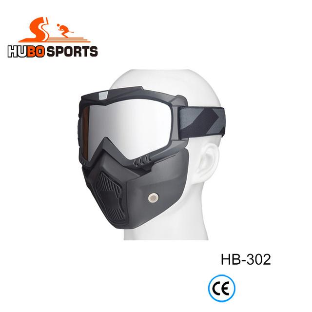face protection custom mx sport helmet goggles paintball mask