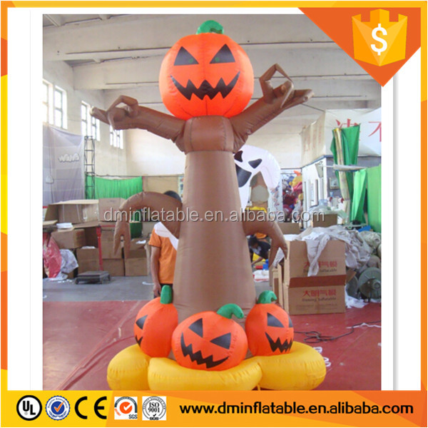 Inflatable Halloween Pumpkin Holiday Decorations
