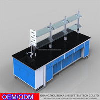 University College Biology Chemistry Use Lab Work Bench Table With CE Approve