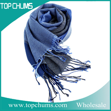 wholesale new western style designs winter wool Sweden men tassel scarf made in china