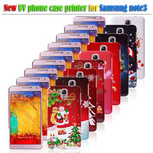 Plastic Santa Claus phone case for Samsung Galaxy Note 3 , christmas gift Series Phone Protection Case