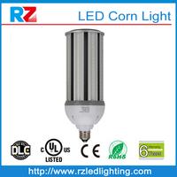 DLC UL Listed 4000K Daylight White Corn Cob LED E40 E39 Mogul base LED 54 Watt Corn Light Bulb