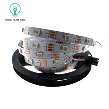 5v smd flexible waterpoof led strip 5050 30leds/m 2812 full color LED strip lights