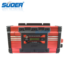 Suoer High Frequency 24v 220v inverters Solar Power System 1500W Pure Sine Wave Inverter