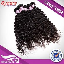 High Quality Raw Dyeable China Factory Silky Strands Hair