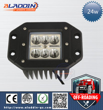 Wholesale waterproof ip67 auto led work light 24w mini jeep buggy 4x4 light bar