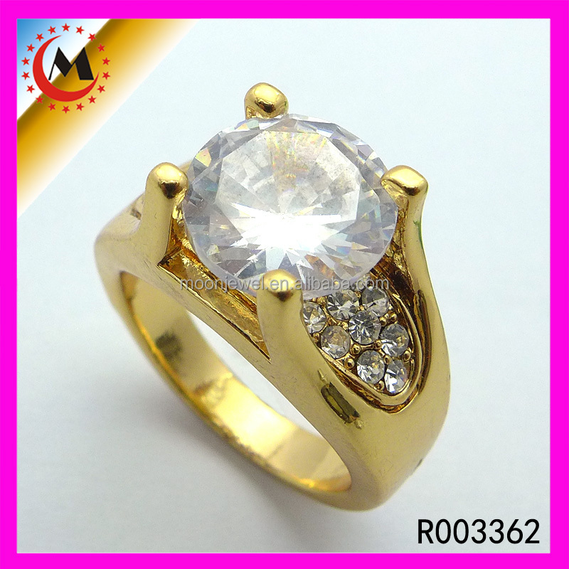 Wholesale Fashion Jewelry Asscher Cut Men's Rings Male Diamond Rings Design Male Rings