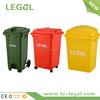 2 Wheeled 120L Waste Bin Room Waste Bin Waste Sorting Bin Custom