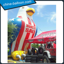 Factory OEM Giant inflatable bald eagle balloon/advertising inflatable eagle model