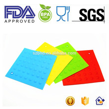 FDA Silicone Trivet Mats / Hot Pads, Pot Holders,Spoon Rest, Jar Opener & Coasters