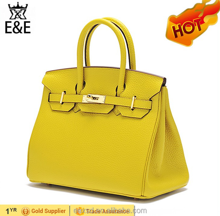 ladies fashion pure real genuine leather hand bag s