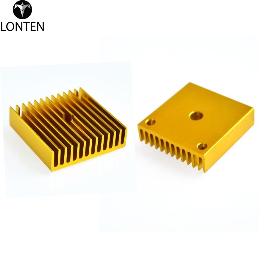 Lonten 3 <strong>d</strong> printer accories MK7 / MK8 heat sink 40 * 40 * <strong>11</strong>