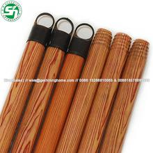 household cleaning tools round wooden poles / handle for rubber broom and mops