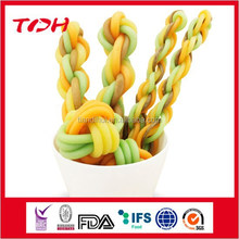 Colorful Chinese Doughnut Dental Snacks Dog Chews Pet Treats Pet Food