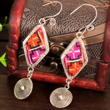 Fashion Cloisonne Key Earring,Designer Earring,2018 Hot Ladies Jewelry