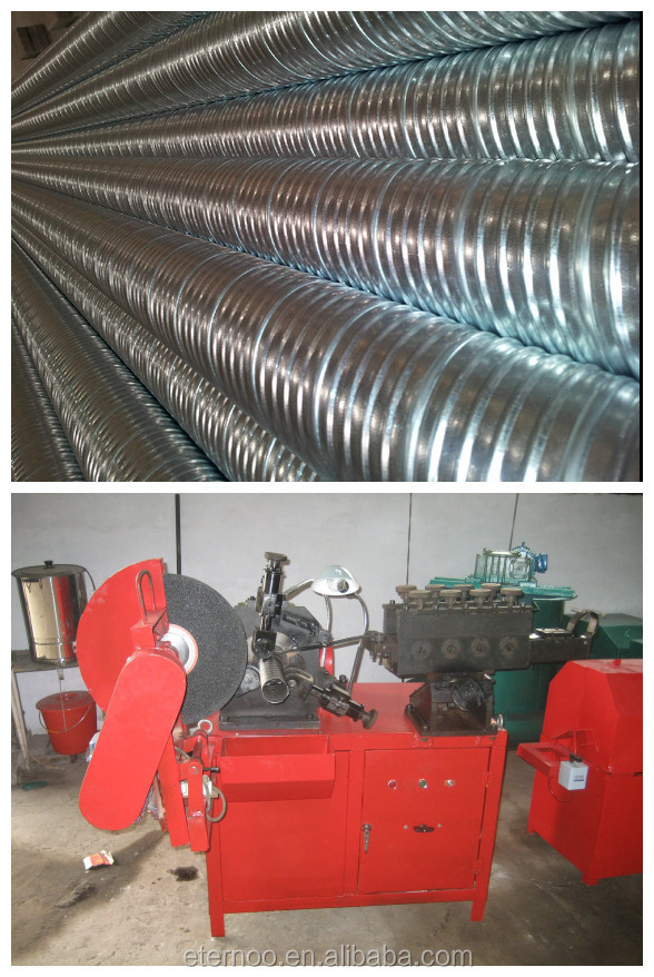 Corrugated Duct making Machine DM-130 (post tension)