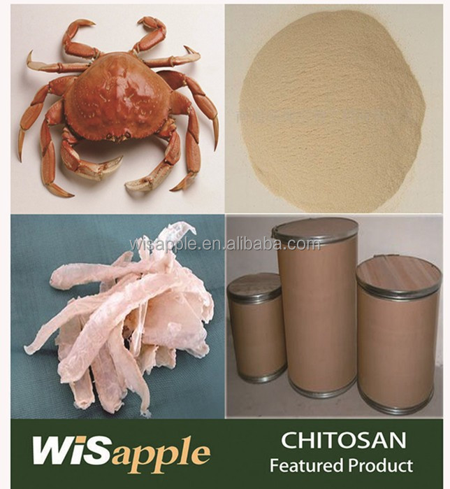 Sea source from crab shell chitosan