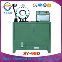 Thailand SY-95D 1/8-2'' inches best rubber hot selling htm hose crimping machine