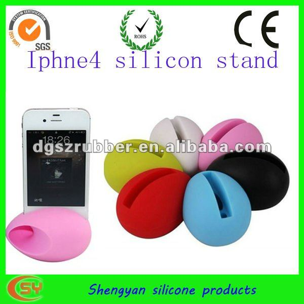 The newest silicone mobile phone music megaphone for Chrismas gift