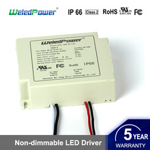IP65 waterproof ul fcc 30w 36v 900ma led driver