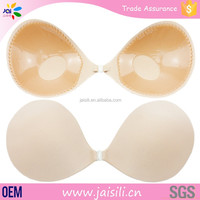Fabric attractive ladies sexy underwear invisible push up bra