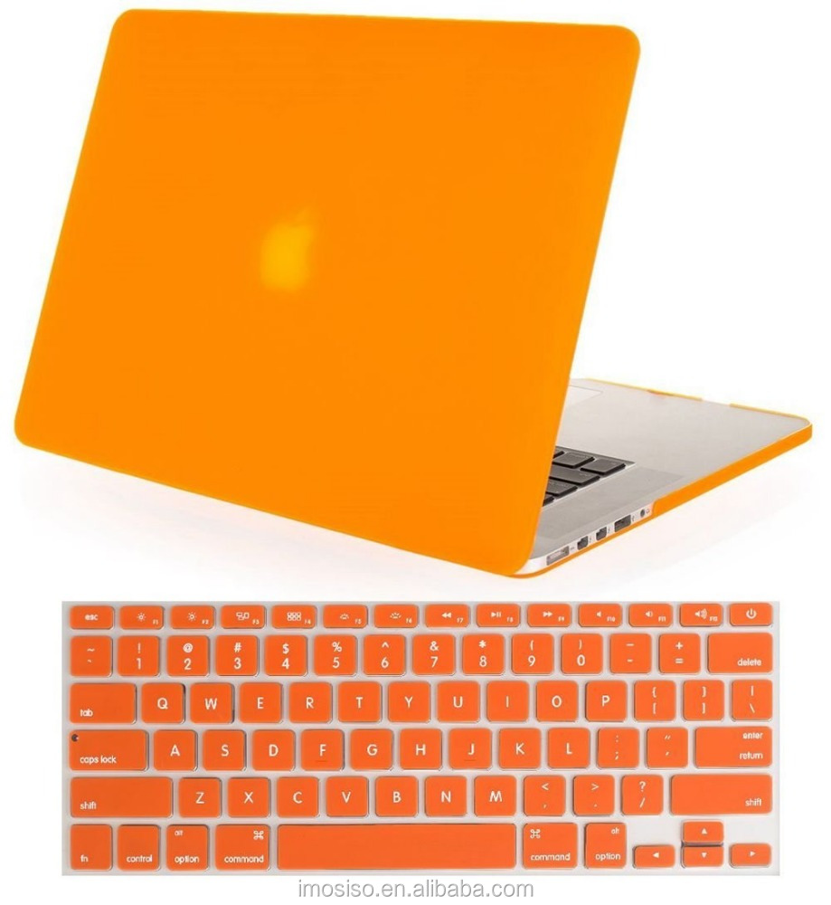 Laptop Plastic Matte Hard Case Cover + Keyboard Cover For MacBook Retina 12 and 13 and 15