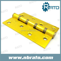 RH-143 aluminium continuous hinge with gold plated