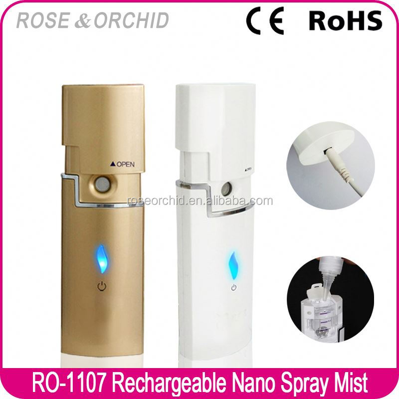 2015 Newest Small Handy Nano Silver Spray for Face Moisturizing