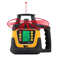 400HV 360 degree Automatic Laser Level with Large LCD Display & Wall Bracket & Battery Holder