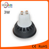 high power mini spot light 3w mr16 gu10 e27 led lamp , high quality 300lm cob led 3w spot light gu10