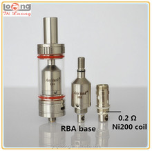 Yiloong sub-ohm tank any tank with ni 200 temp sensing coil like Herakles