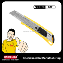 Safety at Office PP Handle Cutter Pocket Knife for Easy to Use