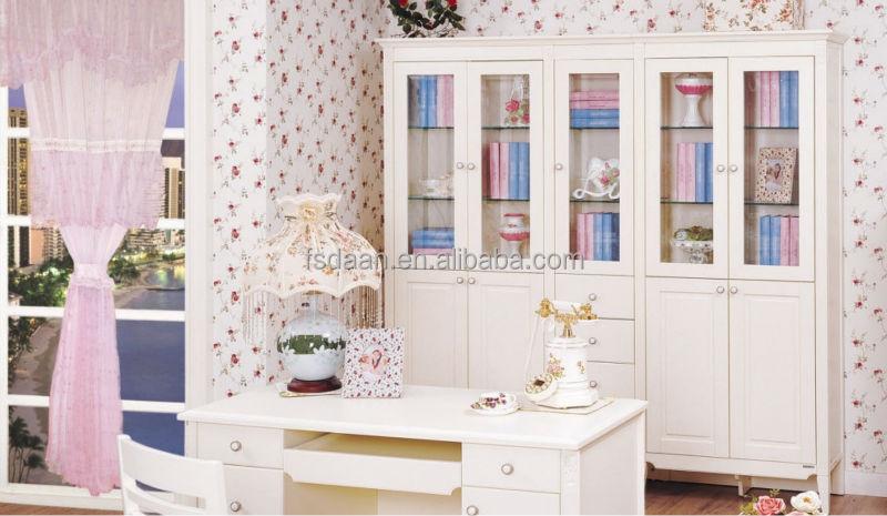white glass door bookcase glass door and drawers