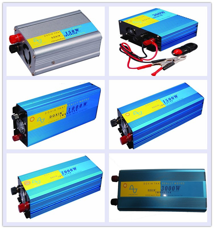 High Quality DC to AC 12v 24v 220v 230v Pure Sine Wave 1500W Inverter