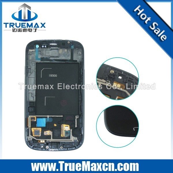 Top Quality LCD Display With Touch Screen Digitizer Assembly for Samsung Galaxy S3
