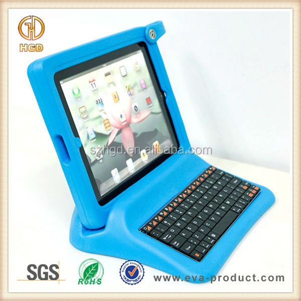 Shockproof EVA Protective Plastic Keyboard Case for iPad 2 3 4