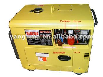 model 5GF-LDE, 5kw air cooled Yanmar Diesel generator