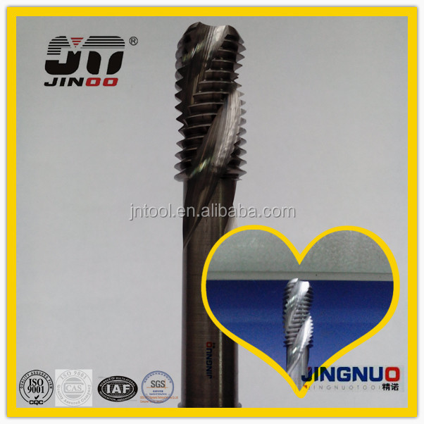 Solid Metric Spiral Flute Combination high quality carbide taps