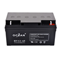 Support OEM high quality small 12v 65ah lead acid ups battery for ups