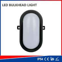 Energy saving outdoor surface mounted 8w ceiling bulkhead led light with motion sensor