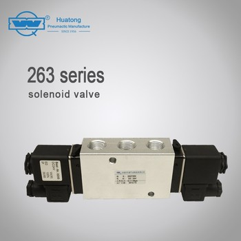263 series 5/2-way industrial air solenoid