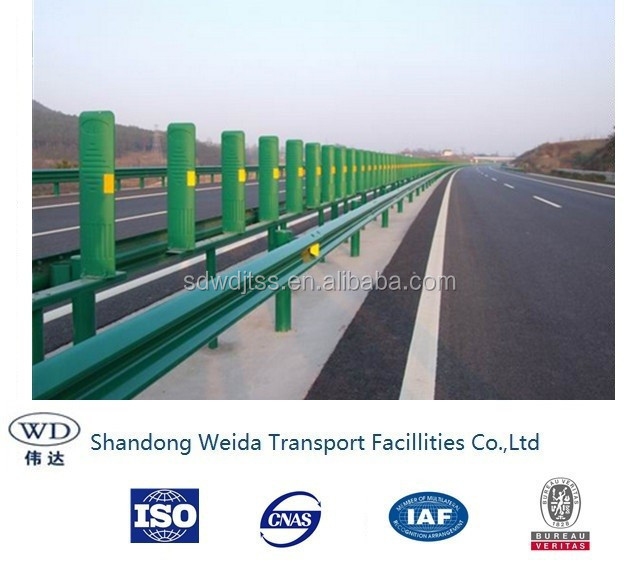 Anti Glare and anti dazzling Panel used in Central Highway Guardrail