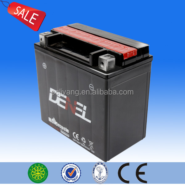 High quality 12V 12AH lead acid motorcycle battery 12v 12ah/10hr mf motorcycle battery